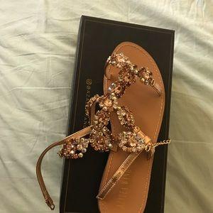 Chandelier sandals